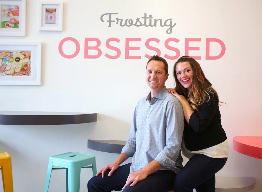 Andrea and Jeff Ballus, owners of Sift Dessert Bar, at their Petaluma store in 2014. Other Sift locations are in Napa, San Francisco, Santa Rosa and Cotati.  Sift Dessert Bar Christopher Chung
