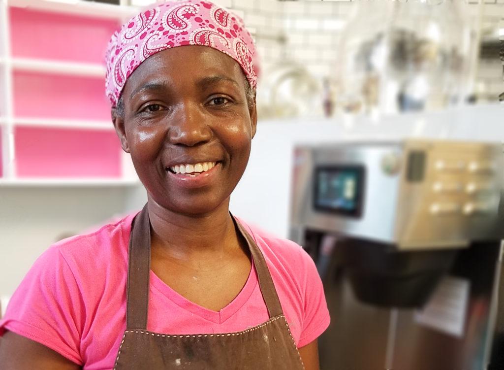Anne Sanusi of Sonoma Crust Bakery. Heather Irwin/PD