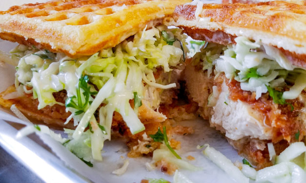 The Perfect Chicken Waffle? We Found it in Santa Rosa