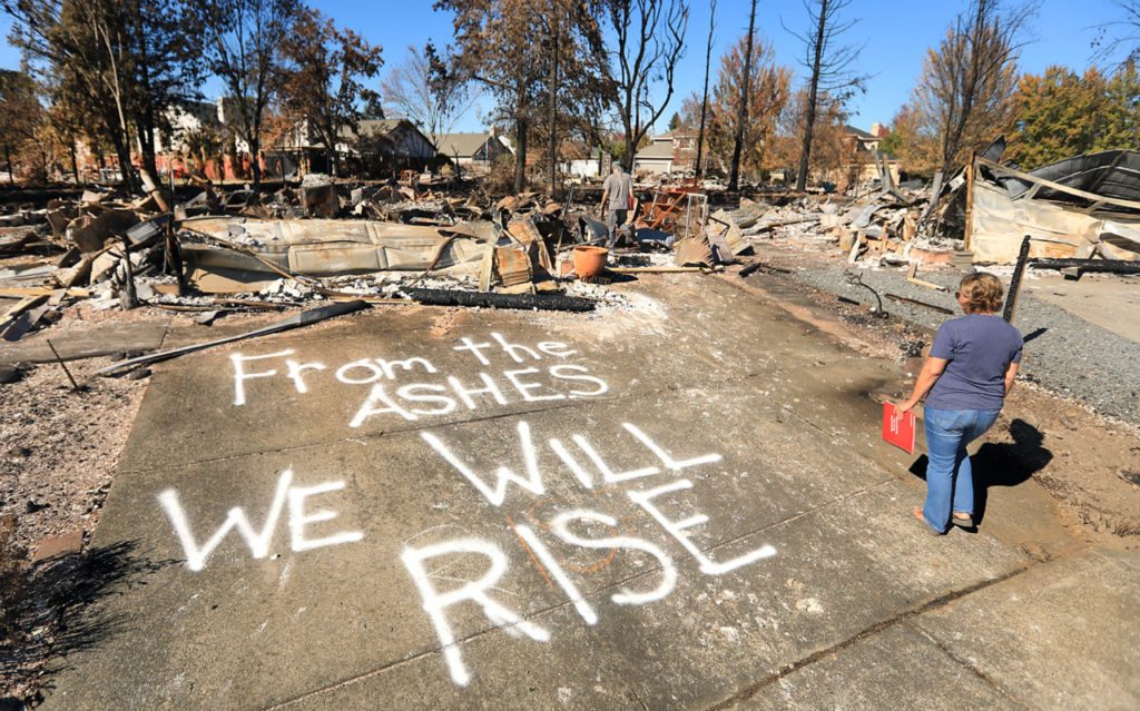 Rising from the Ashes: Sonoma County Faces Long Road to Recovery Following the Fires