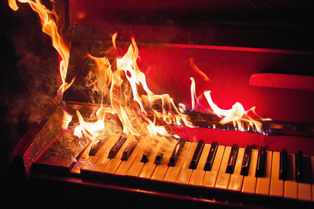 A Sad Note: Hundreds of Pianos and Prized Instruments Lost in Sonoma County Fires