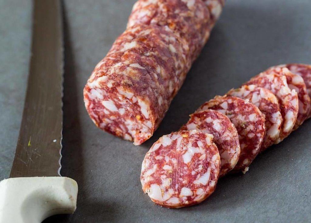 Salami from Thistle Meats in Sebastopol. Facebook