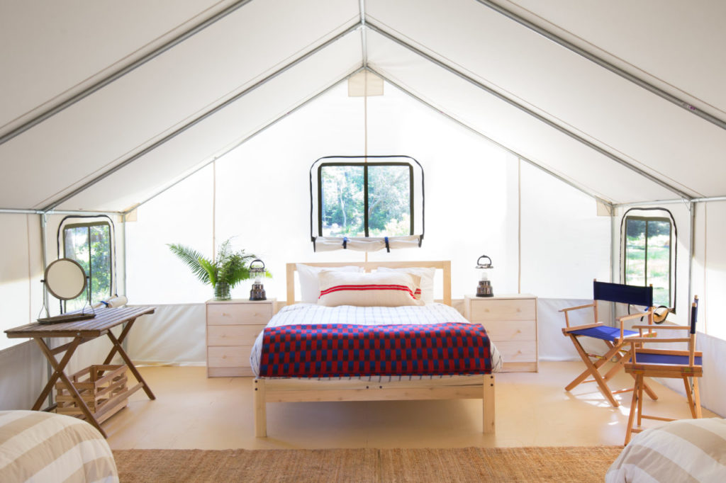 "Camp in Style at New Mendocino ""Glamping"" Site"