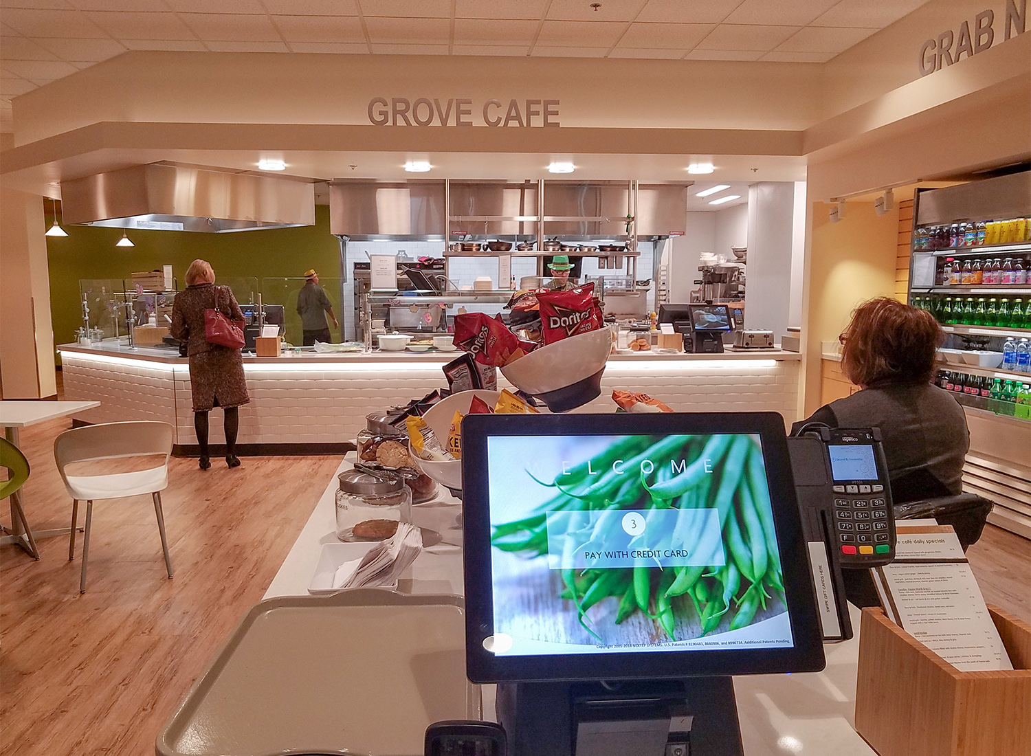 Grove Cafe in the Redwood Credit Union headquarters in Santa Rosa. Heather Irwin/PD