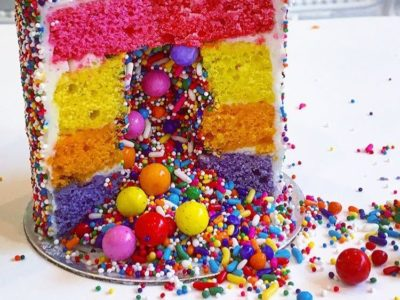 The Sprinkle Explosion Cake is Breaking the Internet