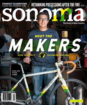 Sonoma Magazine Cover Mar/Apr 2018