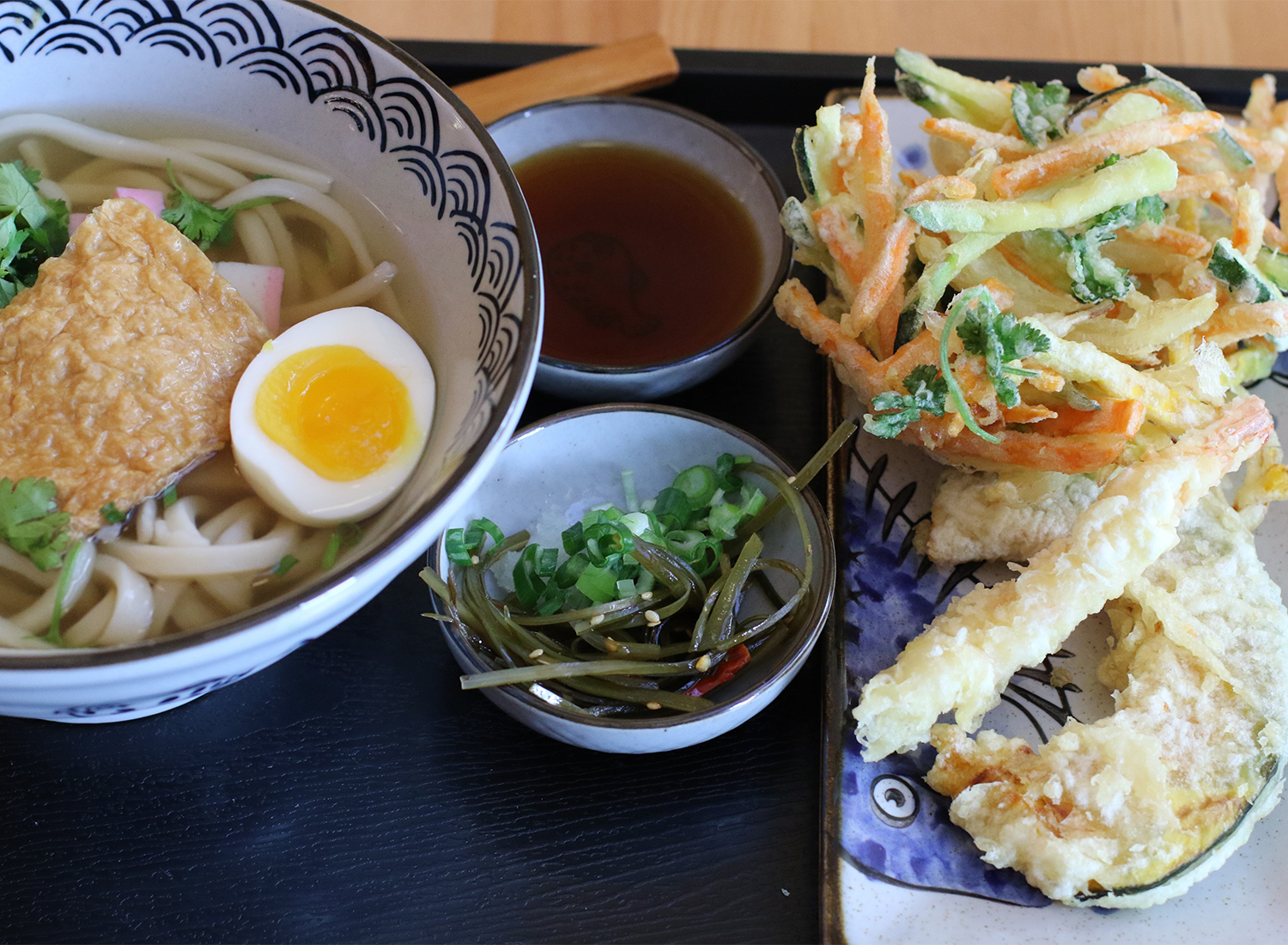 Udon and Tempura at Ippinn Udon and Tempura in Santa Rosa. Heather Irwin/PD