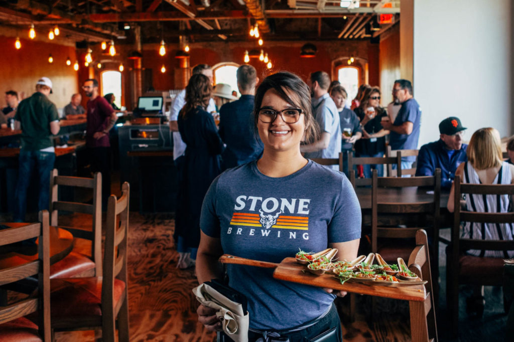 Stone Brewing Opens in Downtown Napa