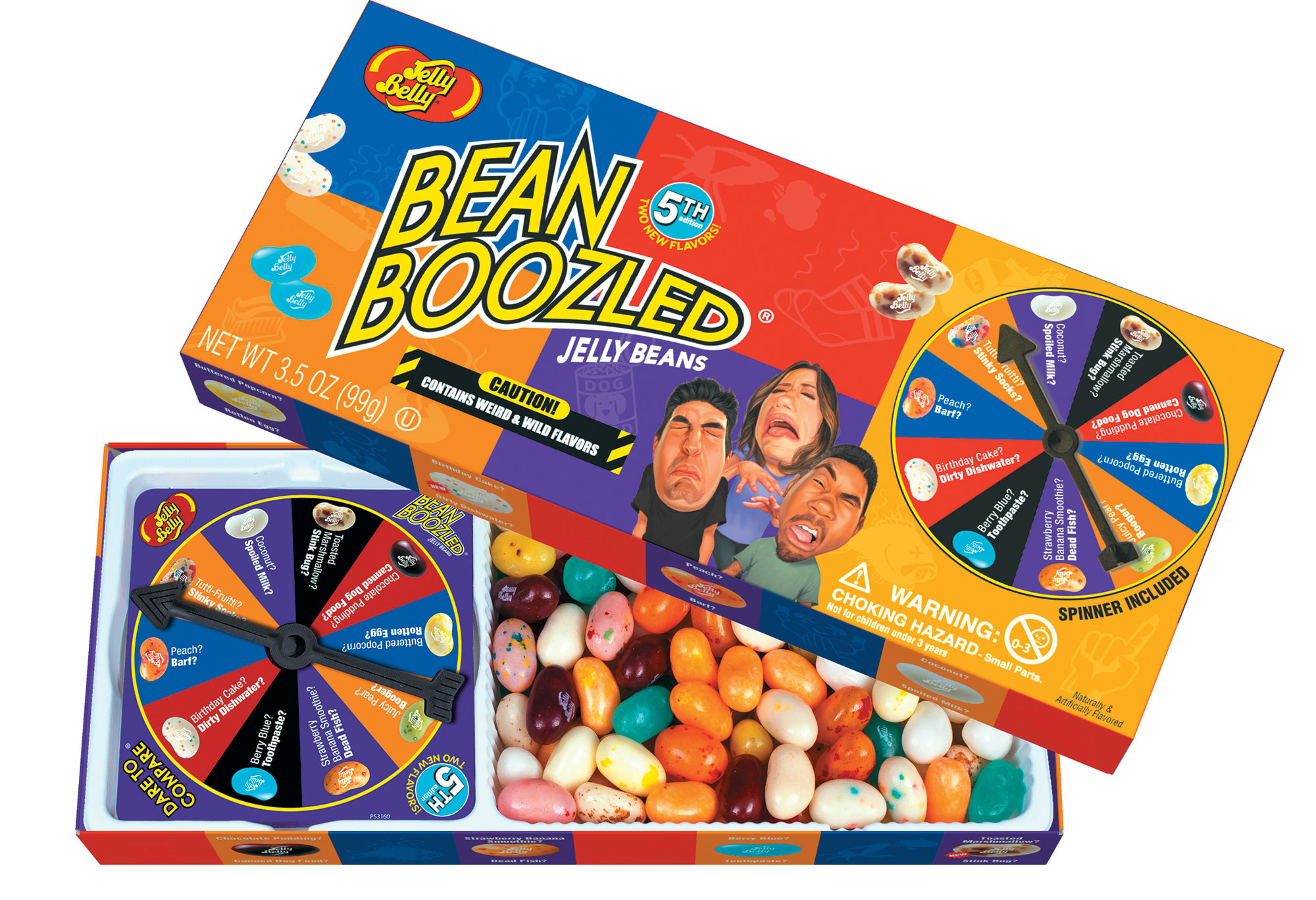 The new Bean Boozled game from Jelly Belly. Yum or yucko?