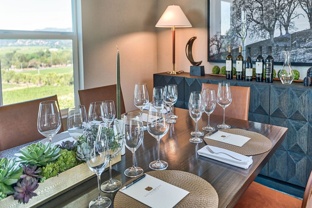 After Wine Country Fires, Signorello Estate Opens Temporary Tasting Room