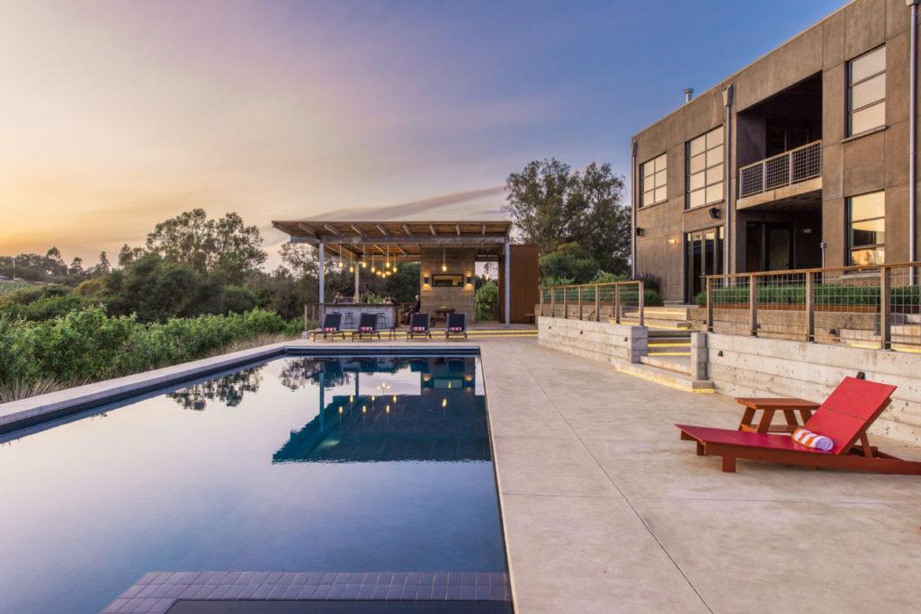 A Dramatic Open-Plan Home in a Sebastopol Apple Grove