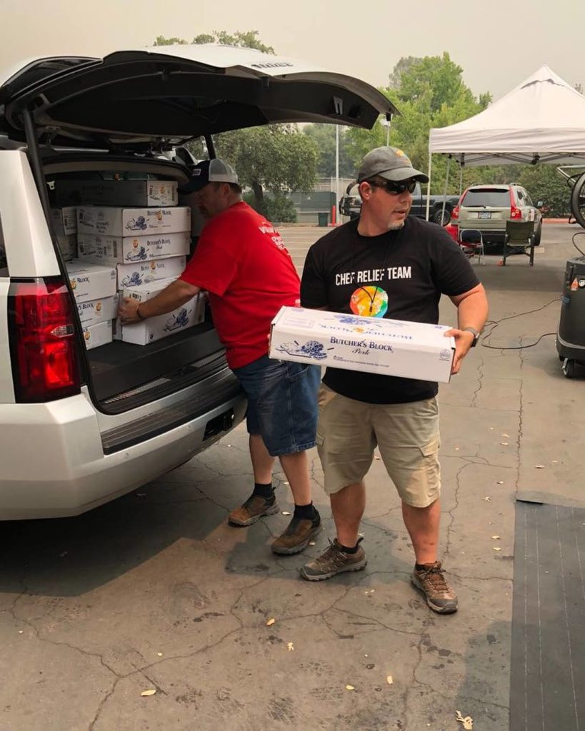Chefs Bring Comfort to Carr Fire Chaos in Redding and Beyond ...