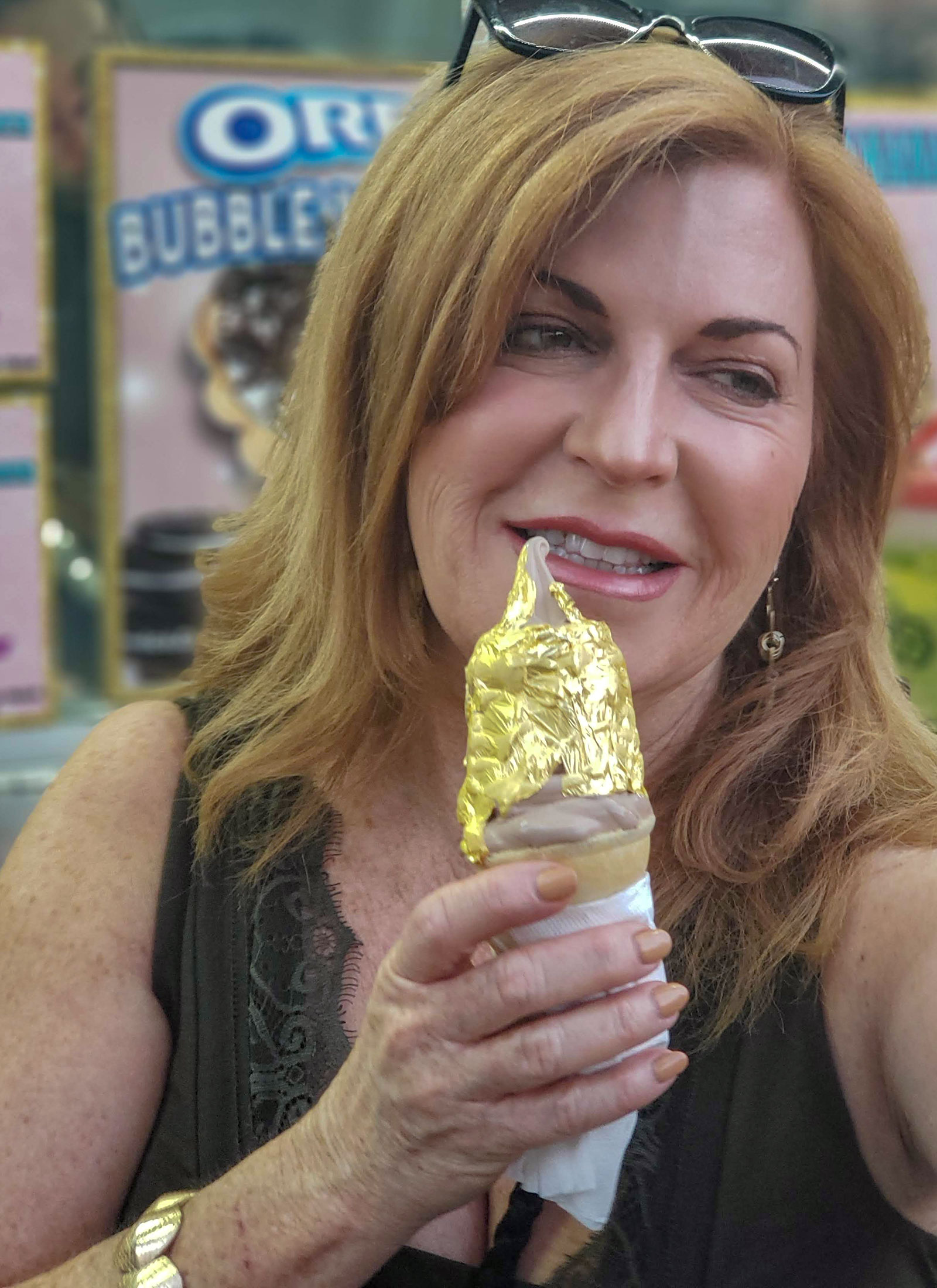 The Golden Cone at the 2018 Sonoma County Fair Food. Heather Irwin/PD