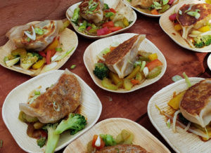Pork belly potstickers at Taste of Sonoma 2018 at the Green Music Center. Heather Irwin/PD