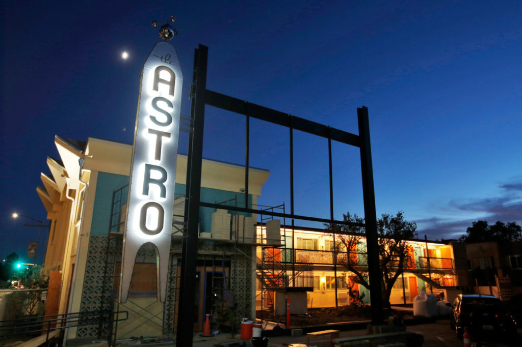 After the Firestorm, Shelter and Solace at Santa Rosa's Astro Motel