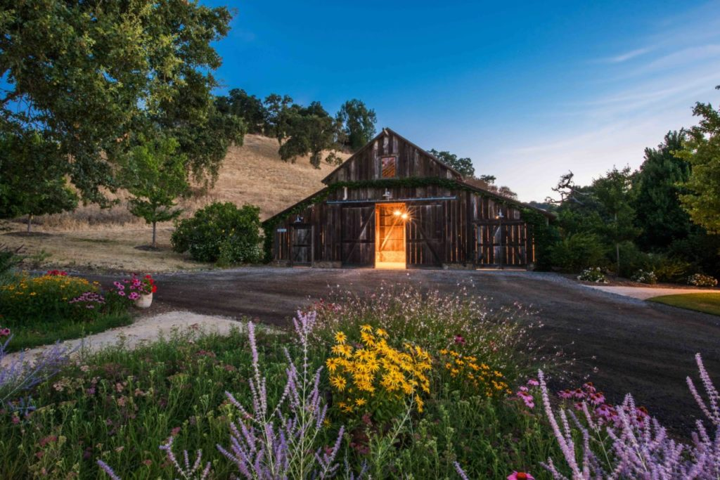 A Peek Inside Sonoma Valley's Most Picturesque Party Barns