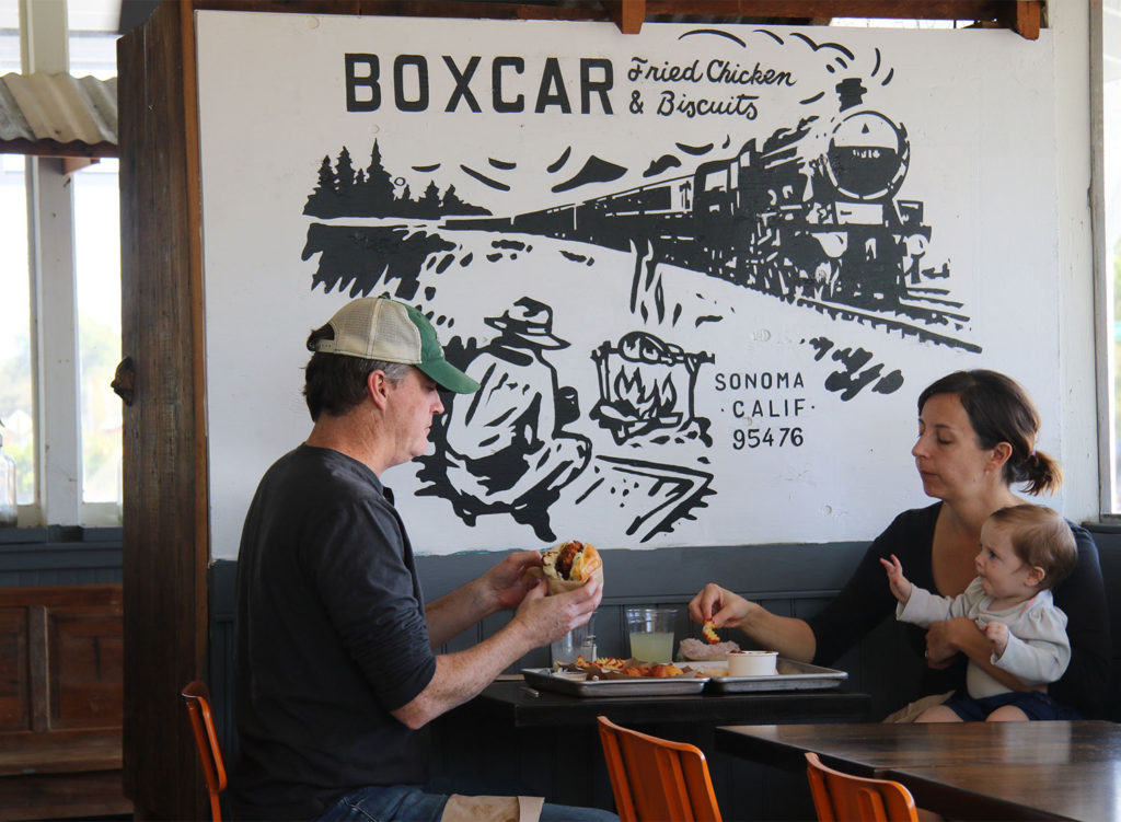 Boxcar Fried Chicken and Biscuits. Heather Irwin/PD