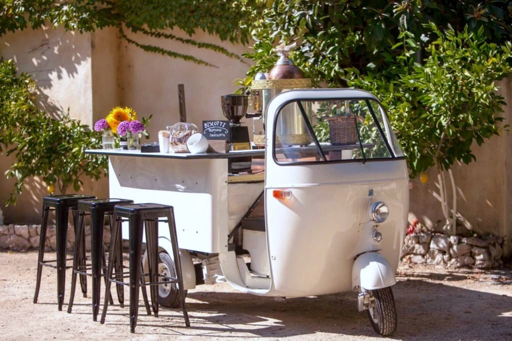 On the Road Again: Classic Espresso Cart Returns to Sonoma County