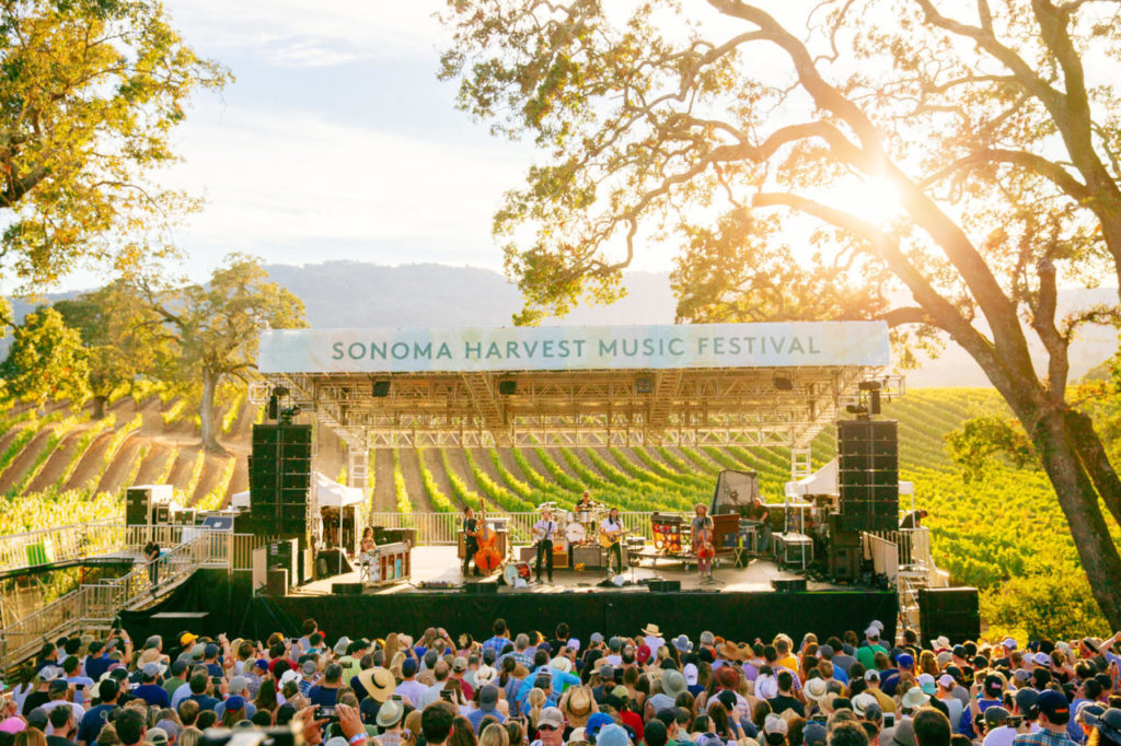 6 Wine Country Music Festivals to Attend This Spring & Summer