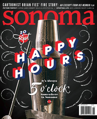Sonoma Magazine Cover May/Jun 2019