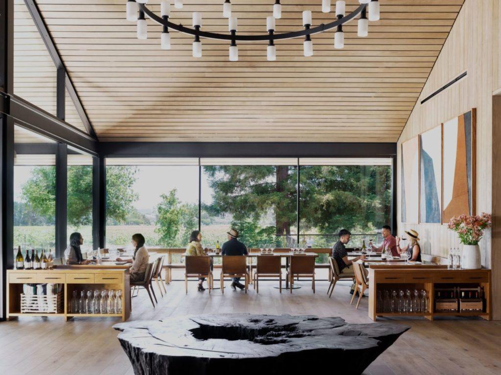 Hot and New: Flowers Vineyards & Winery's Modern Healdsburg Tasting Room