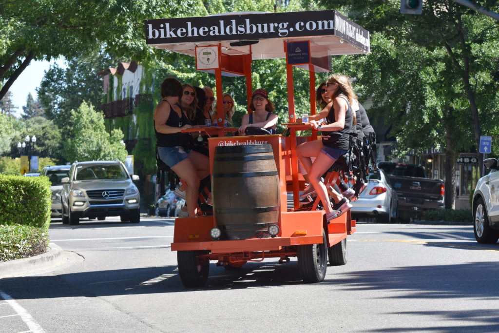 First 'Party Bike' Comes to Sonoma County
