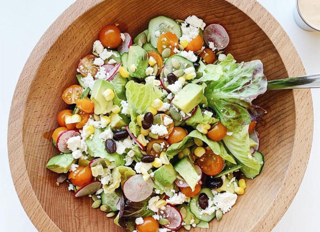 The Best Salad You've Never Had at Food Mechanic in Sebastopol