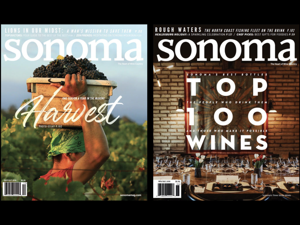 Sonoma Magazine Wins 2019 Eppy Award for Best Digital Magazine
