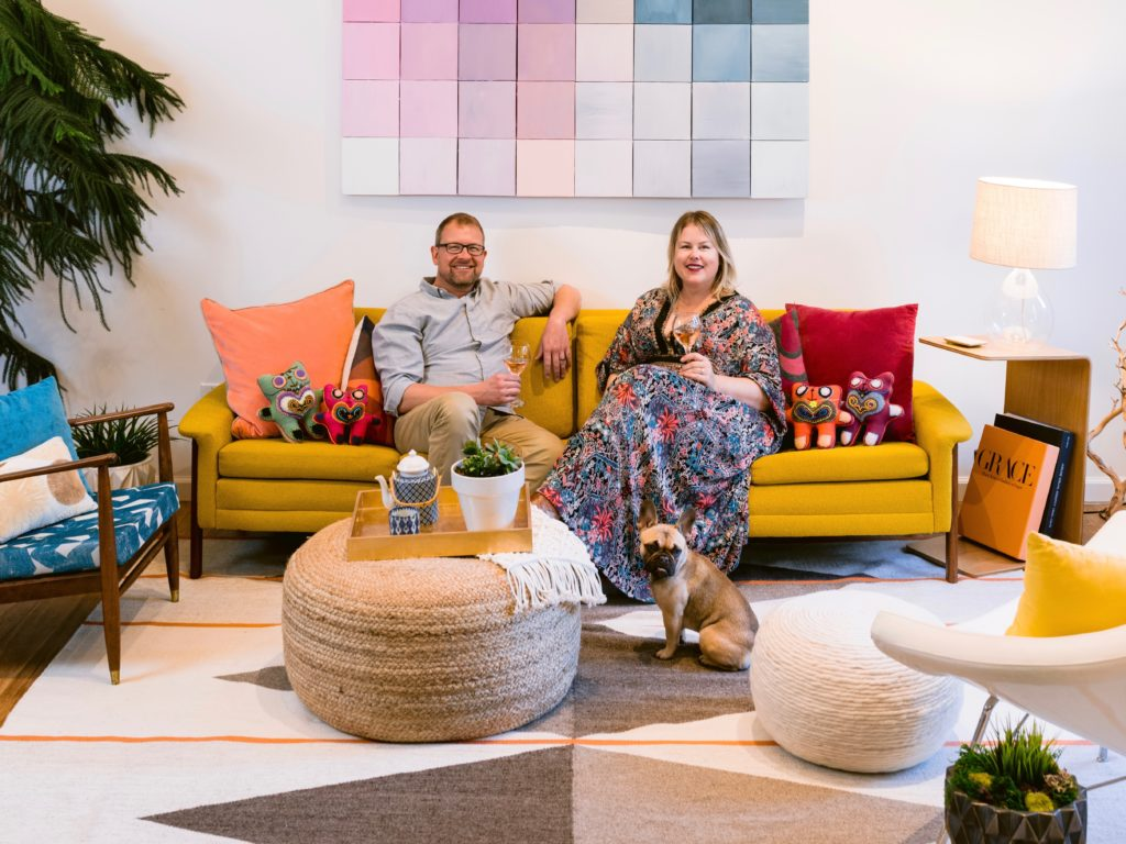 San Francisco Architects Turn Sonoma Home Into a Retro Oasis