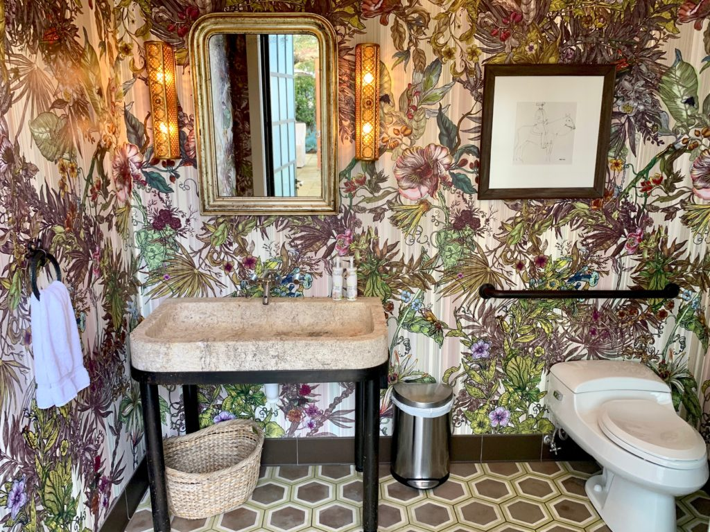 The Cleanest, Prettiest and Quirkiest Restaurant Bathrooms in Sonoma County