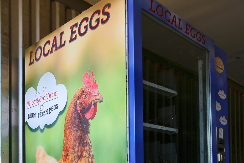 Eggs From a Vending Machine: Local Farms Offer Creative Pickup, Delivery