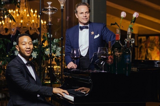 John Legend and Jean-Charles Boisset Team Up for Virtual Wine Tasting