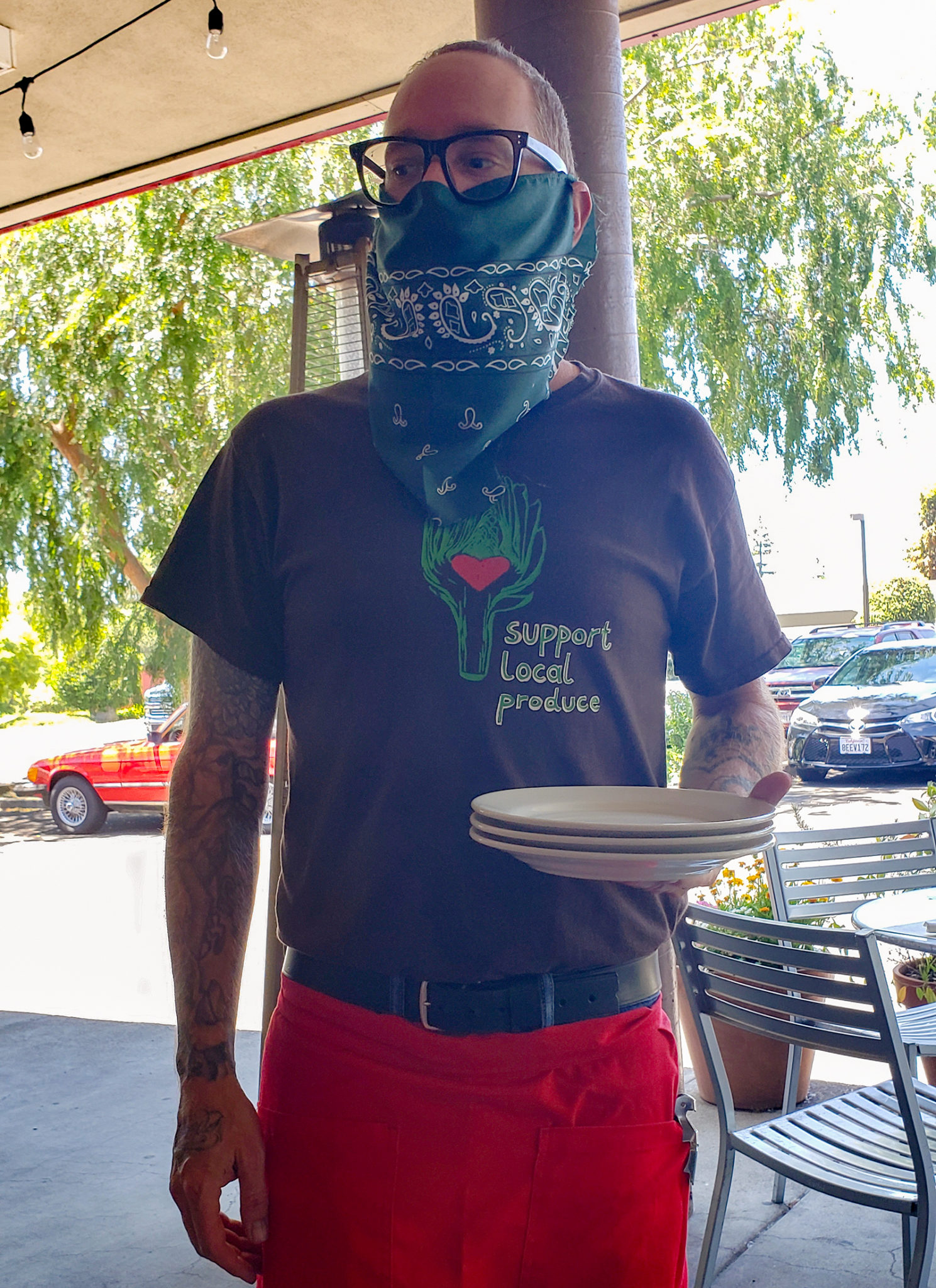 Rosso Pizzeria in Santa Rosa has reopened for patio dining. Heather Irwin/PD