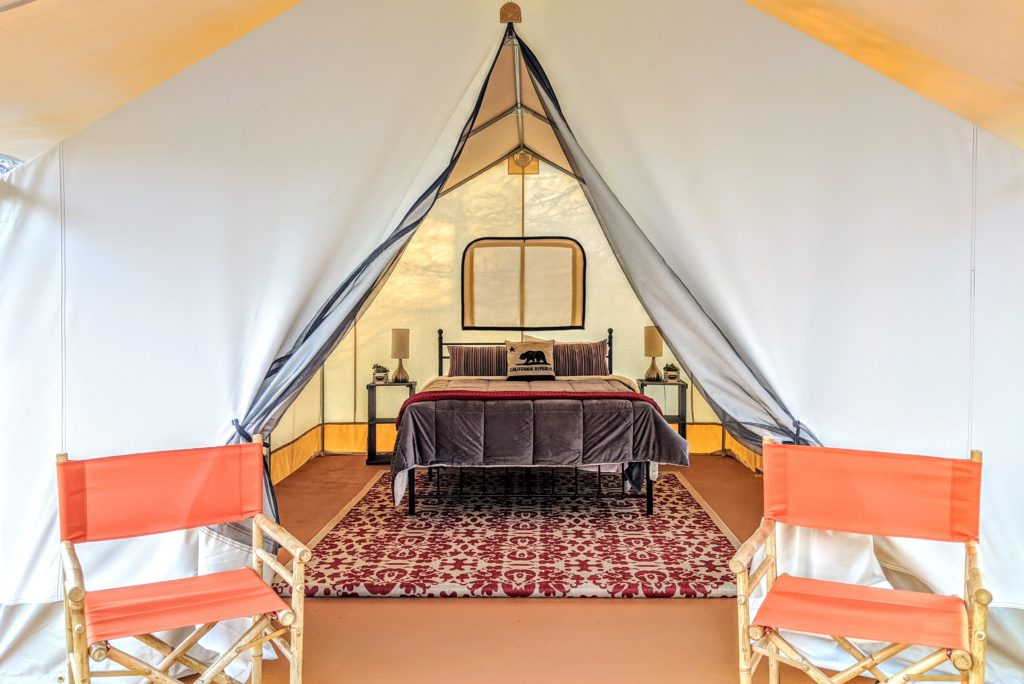 In Need of a Staycation? Check Out This Russian River 'Glampground'